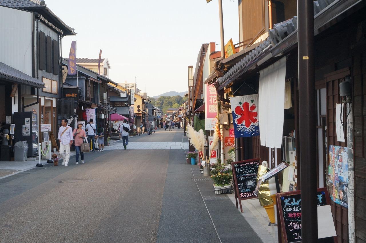 犬山城下町で食べ歩き