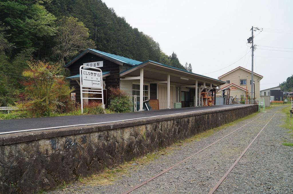 豊田市で廃線散策―名鉄三河線(西中金駅)